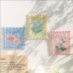 우표 와펜 스티커(4종)