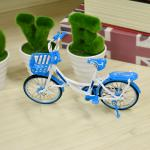 쇼핑 자전거 피규어 장식품