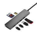타입C멀티스테이션(HDMI,PD,USB3.0,SLOT)_DS2025CUHP