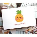 달콤한 과일 미니 카드 7종 세트