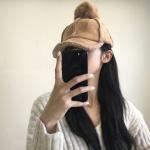 여성 방울 털 캡 모자 4종 방울볼캡 모자 방울털 모자