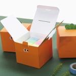 귀여운 당근 기프트 종이 박스 메세지 선물 포장