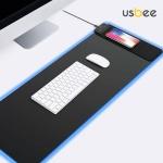 [USBEE] 유즈비 고속무선충전 LED 광마우스패드