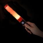 초소형 경광봉+후레쉬 써치라이트 세트 손전등 안전봉