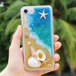 Disegno 핸드메이드 바다 핸드폰케이스 - 별, 바다