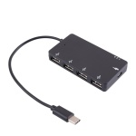C타입 4포트 USB허브 / 멀티허브 충전 데이터 LCIE353