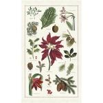 카발리니 빈티지 티타올 - 크리스마스 Botanica