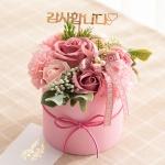 비누 카네이션 센터피스(핑크)