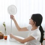 스쿱 무선 폴딩팬 (4단계 풍량조절 / 접이식)