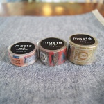 MASTE 마스킹 테이프 3type - 일본 직수입
