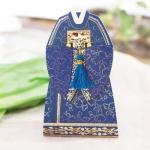전통혼례복카드(왕) FT303-5