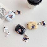 에어팟프로 케이스 3세대 곰돌이키링 슬림 유광 하드