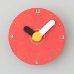 [모로] 컬러원형(S) 무소음벽시계
