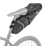 백로더 완전방수 자전거 여행용 촐퇴근 안장가방  6리터 자전거 안장가방