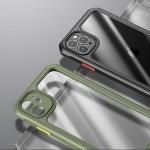 아이폰SE2 8 7플러스/사각 에어백 범퍼 투명 폰케이스