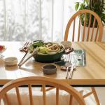 포홈 리브 4인 불판 식탁
