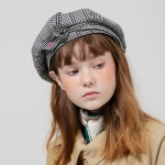 PFS RIBBON BERET - BLACK CHECK