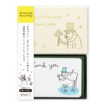 [OJISAN 25th] Letterpress Mini Card Set with Box