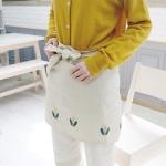자수의온도 프랑스자수 DIY 허리앞치마 만들기