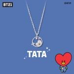 [BT21] 실버 목걸이 : 타타 OTNB19716QWW
