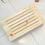 삼나무 원목 발받침대 베이직 발판