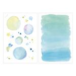 Miccudo 프린트-온 스티커 (8.Blue planet)