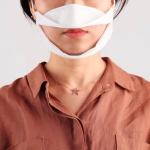 청각장애인 난청인 수화용 투명 마스크