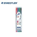 스테들러 트리플러스 화인라이너 4색세트/334-SB4