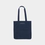 Rosette Flap Pocket bag navy blue