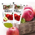 보성농원 사과즙120ml x 50봉 사과박스 포장