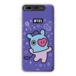 BT21 iPhone8 Plus /7Plus 망 그래픽 라이팅 케이스 (Hybrid)