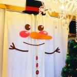 크리스마스 대형 펠트 장식세트 (눈사람)