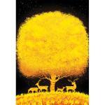 1000피스 직소퍼즐 - 황금 나무
