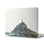 맥북프로13 터치바용 매트쉴드 Design - 프랑스 몽셍미셀