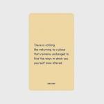 [어프어프] 보조배터리 Nothing comes back-prim yellow