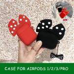 에어팟 PRO/2/1 커플 리본 캐릭터 실리콘 케이스/키링