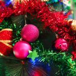 크리스마스 장식볼 오너먼트 5cm 16입 (푸치샤)