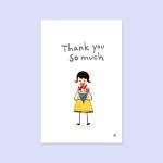 [감사카드] P3006 THANK YOU SO MUCH