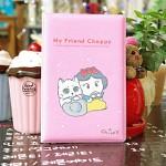 통장지갑/통장케이스/통장보관함/통장정리함/귀여운 초코강아지 캐릭터