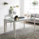 TS-04 강화유리 책상 탁자