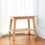 내추럴 원목 사이드 테이블