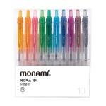 모나미 FX ZETA 볼펜 10색세트