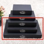 선물 포장 상자-블랙싸바리상자  직사각납짝대형 Box E6