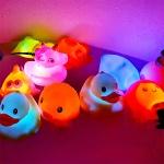 반짝반짝 LED 목욕놀이 친구들 3개세트 4종 장난감