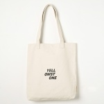 에코백 LOGO CANVAS BAG -YS2094IY /IVORY