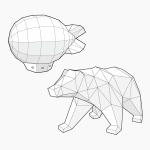 [톰텐]날아라비행선 and 사라져가는 북극곰 SET