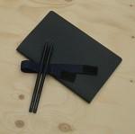 [innoworks] 웍스 유선노트-라인드 노트북 S102 블랙 2권 세트(펜홀더 리필 노트) HA287-2