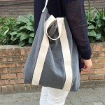 심플캔버스가방-그레이