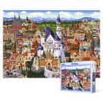 1000피스 직소퍼즐 - 독일 명소 컬렉션