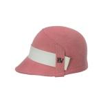 [에반스]Belly felt Hat 벨리 펠트모자_pink